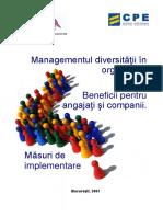 Managementul diversitatii in organizatii. Beneficii pentru angajati si companii.pdf