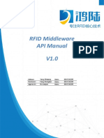 RFID Middleware API Manual