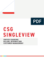 007 CSG Singleview Billing Customer and Revenue Mngmt