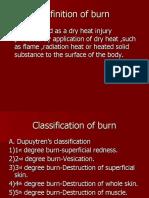 Burn & scald