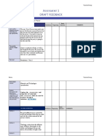 assignment 1 - draft feedback form  2