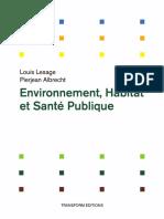 Environnement, Habitat et Santé Publique