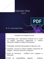 Laborator clinic  III