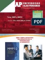 Prueba de Minesota MMPI y MMPI2 - SEMANA 07