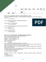 Rezolvarea etapelor III şi IV de la problemele date la parţial