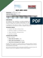Aço Inox 440C