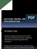 DECISION MAKING 22