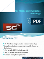 5th Generation Mobile Communication Technology