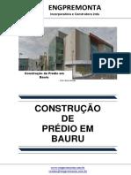 Construção de Prédio Em Bauru