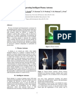 Operating Plasma Antenna