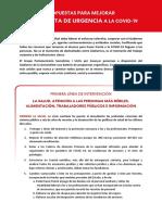Propuestas del PSC