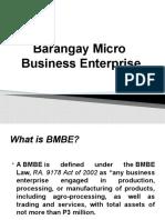 Barangay Micro Business Enterprise
