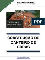 Construção de Canteiro de Obras