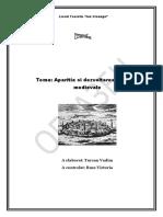 Aparitia si dezvoltarea oraselor medievale
