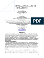 AN EXEGETICAL SUMMARY OF GALATIANS