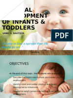 Physical Development of Infants & Toddlers.pptx