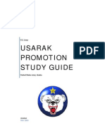 USARAK Promotion Study Guide