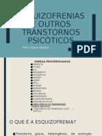 #ESQUIZOFRENIA, TRANSTORNOS ESQUIZOTÍPICOS E DELIRANTES online