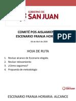 Filtran documento sobre la nueva cuarentena en San Juan
