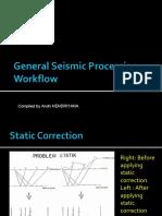 General Seismic Processing Workflow