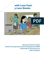 Wfp Cooking With Less Fuel