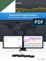 Guide de programmation - fonctions de base & indicateurs