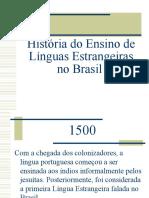 histria do ensino de le no brasil-