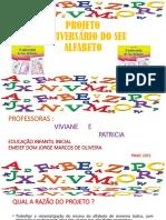 ANIVERSARIO DO SEU ALFABETO
