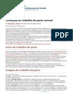 Condução do trabalho de parto normal - Ginecologia e obstetrícia - Manuais MSD edição para profissionais.pdf