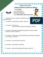 1 - ROTINA DO DIA -03-04-2020