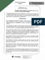 Decreto No. 072 de 2020 - MODIFICACION DTO 070 COVID 19.pdf