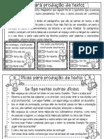 dicas para produção de texto