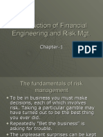 Introduction  and Risk Mgt 3