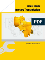 LG Planetary Transmission Service Manual