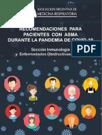 Recomendaciones Para Pacientes Con Asma Durante La Pandemia de COVID -19 - Abril 2020