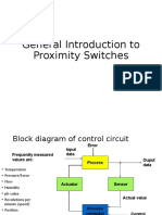 Introduction to proximity switches
