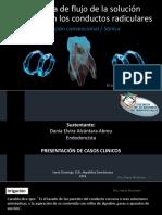 Dinámica de Flujo de La Solución Irrigadora en Los Conductos Radiculares. Dra. Dania Alcantara