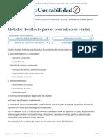 Métodos de cálculo para el pronóstico de ventas _ Contabilidad de Costos, Financiera, Básica y Ejercicios.pdf