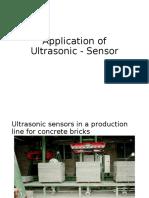 Application_ultrasonic_sensors