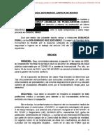 Denuncia del Summat contra el Consejero de Sanidad de la Comunidad de Madrid