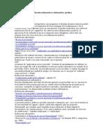 Diccionario básico de derecho informático e informática jurídica