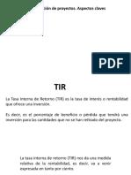 Presentación  1 de Evaluación de proyectos