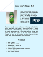Do you know what's ginger ale.pdf