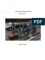 debris management plan project