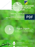 Rancangan Aktualisasi Pembuatan Pupuk Organik Cair