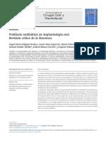 Profilaxis antibiótica en implantología oral