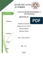 Bromatología-Proteínas