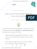 Lady Gaga's Personality Type_ Far From the Shallow _ 16Personalities