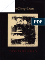 Bernhard, Thomas - Cheap-Eaters