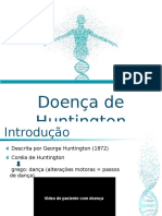 Doença de Huntington - Disciplina de Genética.ppt